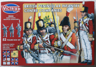 Victrix 28mm VX0002 British Infantry Centre Companies Peninsular